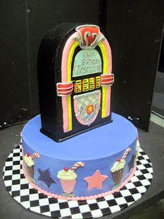 Hansen's Cakes. Jukebox cake.