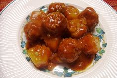 My family love meatballs. I am always asked to make these for gatherings. They are sweet and delicious Indian Food Recipes, Paleo Recipes, Ethnic Recipes, Chinese Recipes, Yummy Recipes, Cooking Recipes, Meat Appetizers, Appetizer Recipes, Roast Chicken Drumsticks