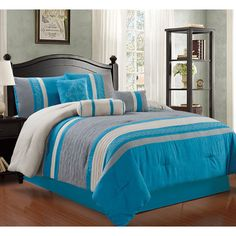 Found it at Wayfair - Max 7 Piece Comforter Set