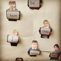 Personalised display for words, letters, numbers etc
