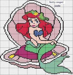 Bom dia amigas!  para quem tem uma princesinha e adora bordar pra ela:
