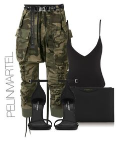 """Untitled #89"" by pelinmartel ❤ liked on Polyvore featuring Unravel, Givenchy and Yves Saint Laurent"