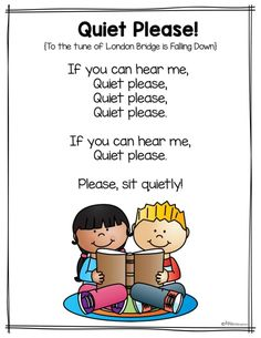 Free Classroom Management Song - Miss Kindergarten