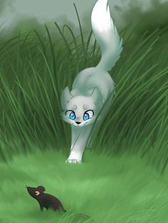hunting. warrior cats