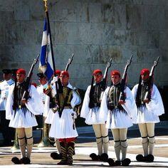 Soldiers in Kefalonia Greece