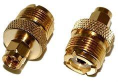 SO-239 UHF Female Jack to SMA Male Plug Adapter Ham Radio, Gold Ham Radio, Plugs, Gold Rings, Plating, Female, Corks, Ear Plugs