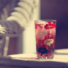 Make a hibiscus syrup that you then use to make a wonderful hibiscus ...