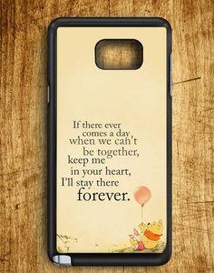 Winnie The Pooh Quote Samsung Galaxy Note Edge Case