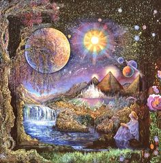 Gypsy Moon's Enchanted Chronicles~Artwork by Josephine Wall