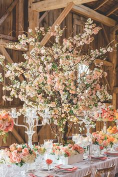 WedLuxe– Cherry Blossom Season | Photography by: Mango Studios Follow @WedLuxe for more wedding inspiration!