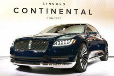 concept lincoln continental | Lincoln Continental Concept: FOTO LIVE dal Salone di New York 2015