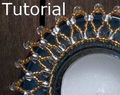 Swags Necklace Beadwork Pattern/Tutorial Instant by BearlyBeaded