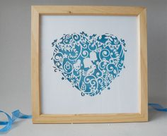 Laser cut wall art by Laura-Jayne Parsons, via Behance