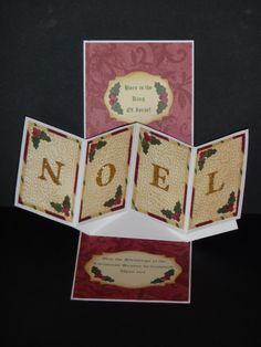 Noel Twist & Pop by LilyLynn - Cards and Paper Crafts at Splitcoaststampers