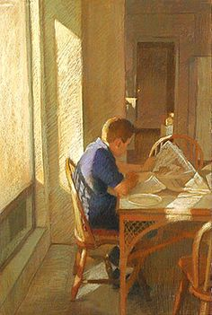 Morning Table - Sally Strand @@@@..........http://es.pinterest.com/vzasovickaya/%D1%83%D1%82%D1%80%D0%BE/