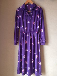Woman's Vintage Dres by MajosCloset on Etsy