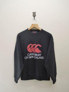 Vintage Canterbury Of New Zealand Big Logo by RetroFlexClothing