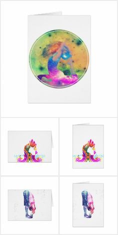 Element yoga greeting cards stationary cards gift wrapping element yoga greeting cards m4hsunfo