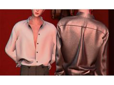 The Sims 4 Open Shirt_M by shendori Sims 4 Male Clothes, Sims 4 Clothing, Sims 4 Cas, My Sims, Vêtement Harris Tweed, Maxis, Sims 4 Anime, The Sims 4 Packs, Sims 4 Game Mods