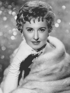 Barbara Stanwyck.  I loved the strong female characters she played.