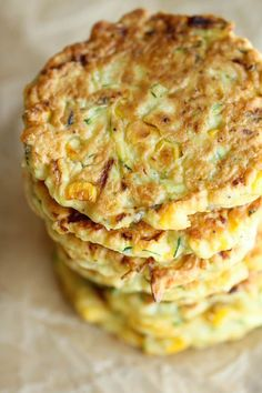 3. Zucchini Corn Pancakes #pancakes #healthy #recipes # http://greatist.com/eat/pancake-recipes-for-any-time