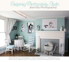 Beautiful in-home Photography Studio Tour!      {Featuring Keri Kay Photography on iHeartFaces.com}
