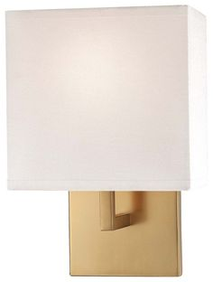 """View the Kovacs P470-248 1 Light 11.25"""" Height ADA Compliant Wall Sconce in Honey Gold at Build.com."""