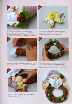 Christmas Holidays, Christmas Crafts, Merry Christmas, Diy Craft Projects, Diy Crafts, Burlap Wreath, Santa, Fabric, Album