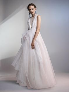 H&M Conscious Exclusive 2017 White Tulle Full Wedding Dress Gown 8 10 12 14 16 Making A Wedding Dress, Gorgeous Wedding Dress, Beautiful Dresses, Asos, Cute Yellow Dresses, Topshop, White Tulle, Glamour, Bridal Collection