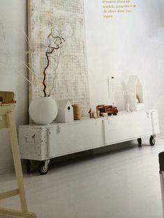 Mooi dressoir: DIY! Mijn nieuwe projectje