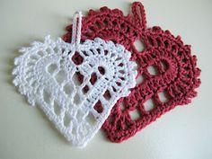 Swedish Heart Crochet Pattern