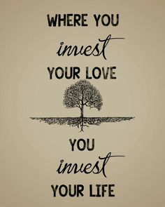 Love and life. Invest wisely. - Mumford and Sons ( lyrics)