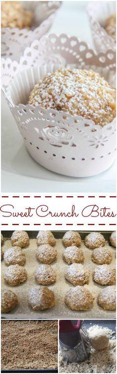 Walnut Crunch Bites. ValentinasCorner.com