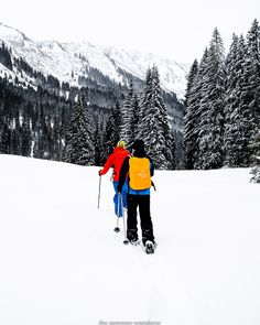 When The World Turned White: Snowshoeing in Vorarlberg, Austria | The Common Wanderer #winter  #kleinwalsertal #visitvorarlberg #myvorarlberg