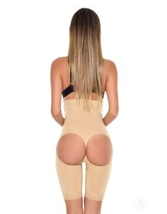 Bodysuit plus booty boost equals an amazing hourglass figure under just about any of your favorite fashion!