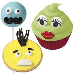 & Cake Decorating Mustache, Lips And Teeth Decorating Candy Set From Wilton 1196 - & Garden Mustache Decorations, Edible Cake Decorations, Wilton Cake Decorating, Cake Decorating Tools, Candy Lips, Wilton Cakes, Birthday Party Themes, Teeth, Shapes
