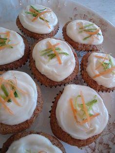 Carrot and zuchinni muffins
