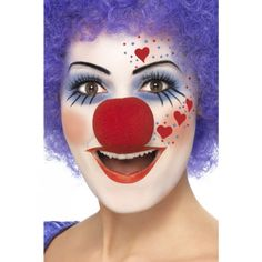 clown schminktipps fasching schminken karneval schminken. Black Bedroom Furniture Sets. Home Design Ideas