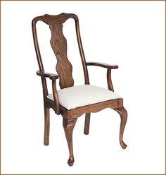 Pennsylvania House Furniture Queen Anne Chair | Classic Queen Anne Arm  Chair   Chairs   Amish