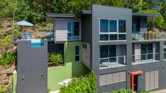 Real estate photography at Savaii Close Palm Cove. Taken from my 8 metre tall tripod.