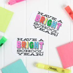 Fun Ideas to Brighten the Start of Your School Year