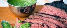 Steak with Chimichurri Sauce Recipe via @dailyburn