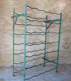 Industrial wine rack. Actually it's French
