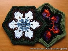 Hexagon to Crochet! has a chart pattern.