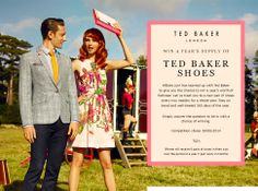 Win a Year's supply of Ted Baker Shoes (1 pair of new shoes every 2 months). To enter the giveaway, answer 1 question