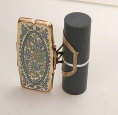 Vintage lipstick holder