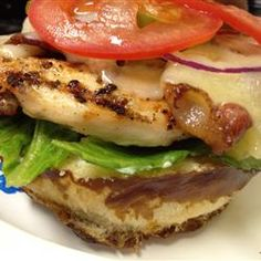 Bacon Jack Chicken Sandwich  This will happen w/clean ingredients! My mouth is watering!!!!
