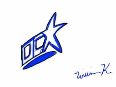 wk's dc comics logo design 2