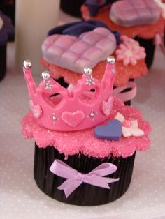 Crown Cupcakes - for my diva princess