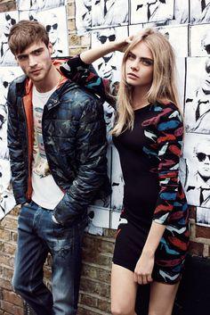 Lookbook : Cara Delevingne x Pepe Jeans